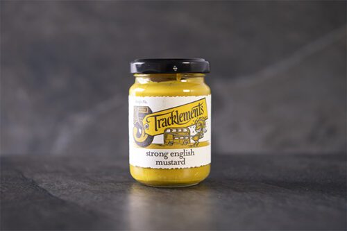 Tracklements Strong English Mustard (140g) - 01