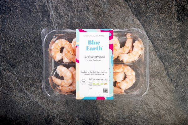 Cooked-then-Peeled King Prawns (150g) - 02