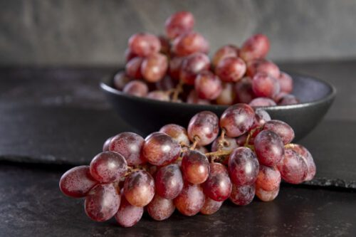 Red Grapes (500g) - 01