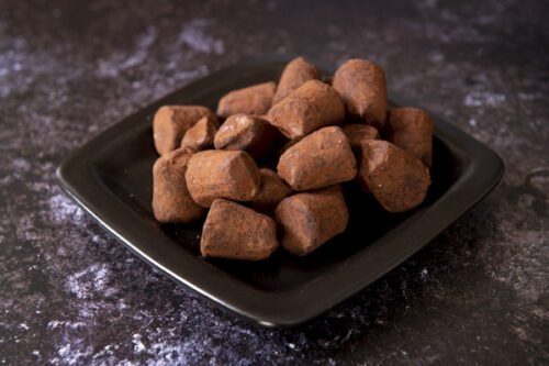 Cocoa Dusted Salted Toffee Truffles (175g) - 01