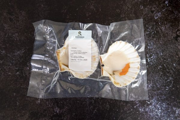 Half Shell Scallops with Roe 2 - Stevenson's - 44 Foods - 02