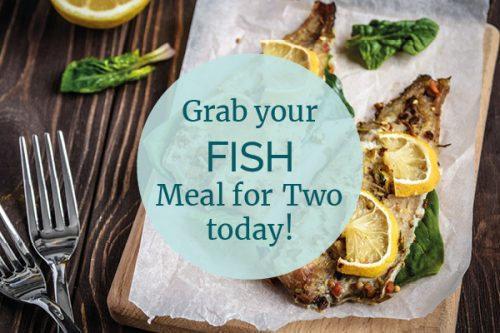 Fish meal for two