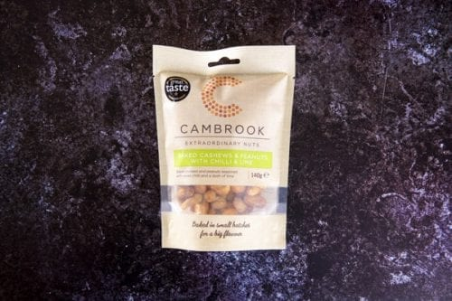 Baked Cashews & Peanuts with Chili and Lime 140g - Cambrook  - 44 Foods - 01