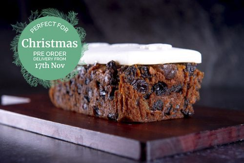 Gluten Free Christmas Loaf Cake 550g - Simply Delicious Cakes -44 Foods - 01