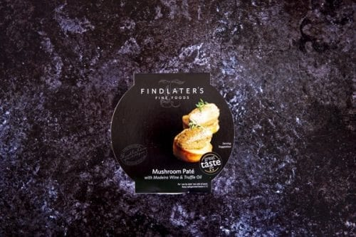 Mushroom Paté with Madeira and Truffle Oil 120g - Findlater's Fine Foods - 44 Foods - 01