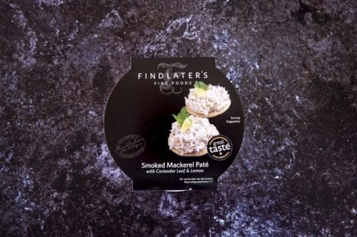 Smoked Mackerel Paté with Coriander Leaf and Lemon 115g - Findlater's Fine Foods - 44 Foods - 01